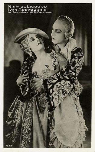 Rina De Liguoro & Ivan Mozzhukhin in Casanova