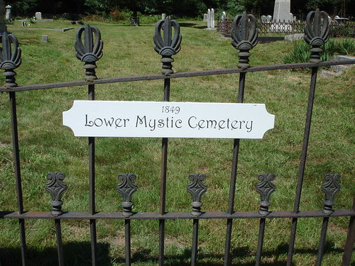 Lower Mystic Cemetery [1849] by midgefrazel
