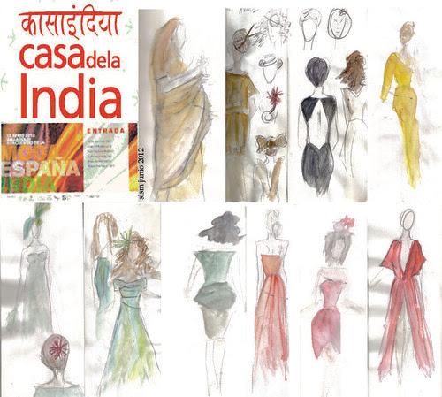 moda españa e india 2012