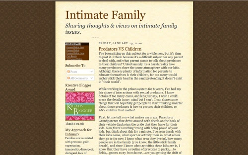 Intimate Family