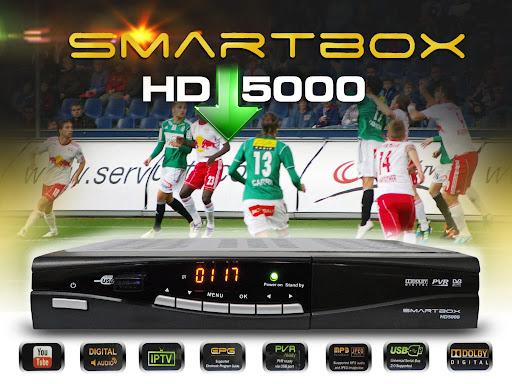 nova ATUALIZAÇÃO SMARTBOX HD 5000