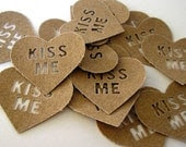 TOUGH LOVE KISS ME EMBELLISHMENTS