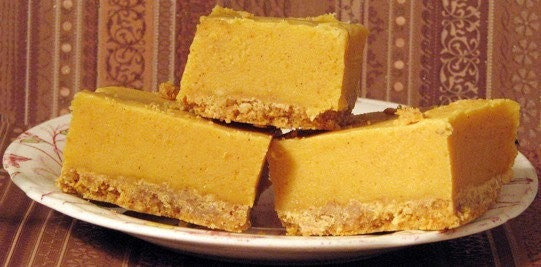 Pumpkin Pie Fudge with Graham Cracker Crust- A Great Gift- 2 Full LBS