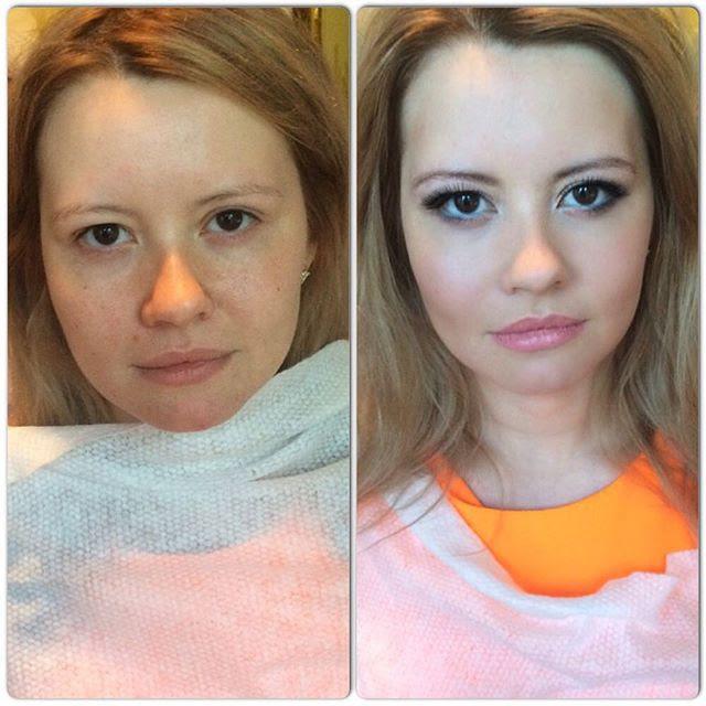 Фоторазоблачение: как женщины обманывают мужчин девушки, косметика, красота, макияж
