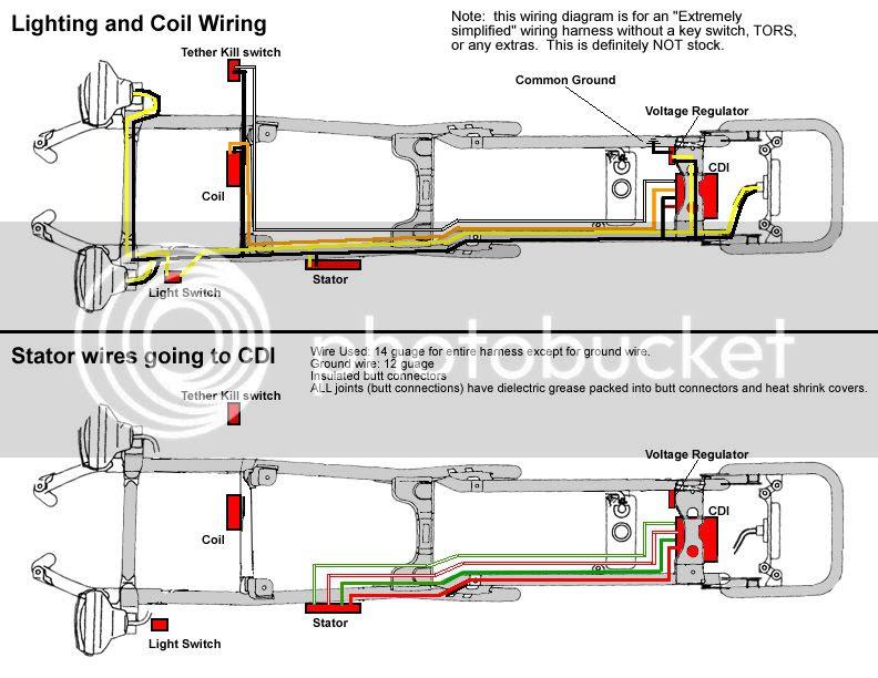 yamaha r6 wiring harnes