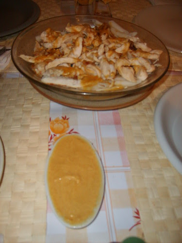 pollo en salsa de cacahuete 1