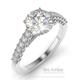 Round Diamond Engagement Ring   Stag