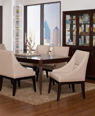 Martha Stewart Dining Room Furniture, Larousse 5 Piece Set (Table ...