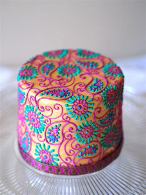 Henna Piping Tutorial and Templates   cakes   Pinterest