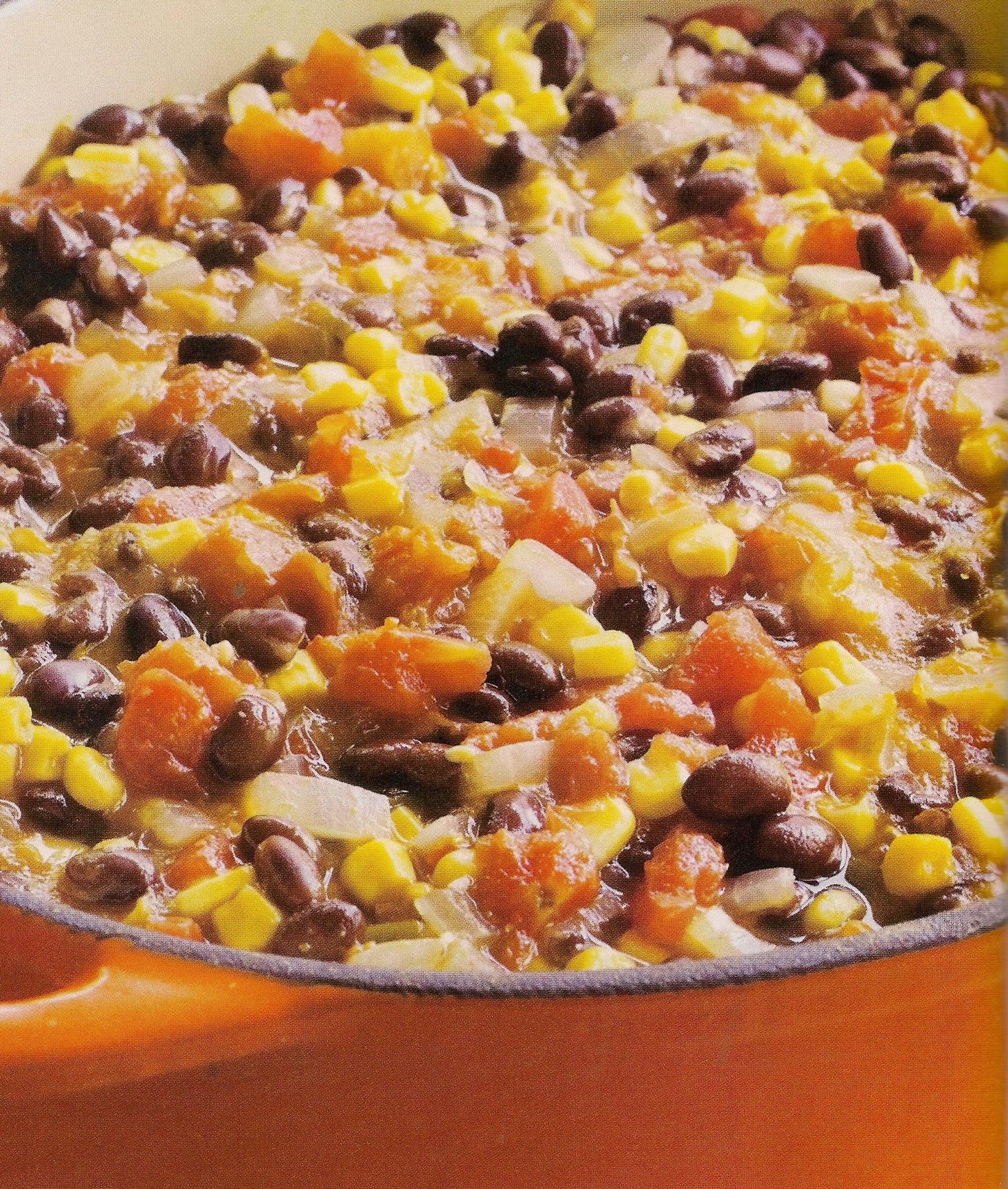 Black Bean Pumpkin Stew