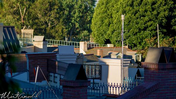 Disneyland Resort, Disneyland, New Orleans Square, Rooftop