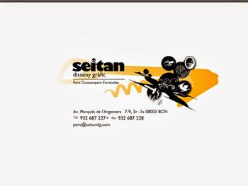 Seitan Disseny Grafic @Segonquart © Delfi Ramirez 2008
