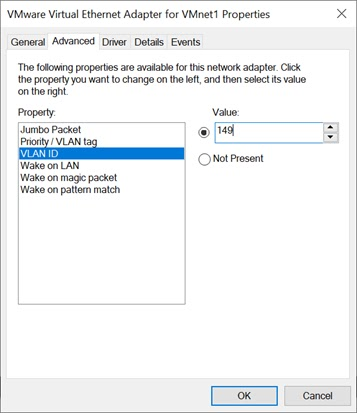 VLAN Tagging Software for Windows 10 without Proset drivers