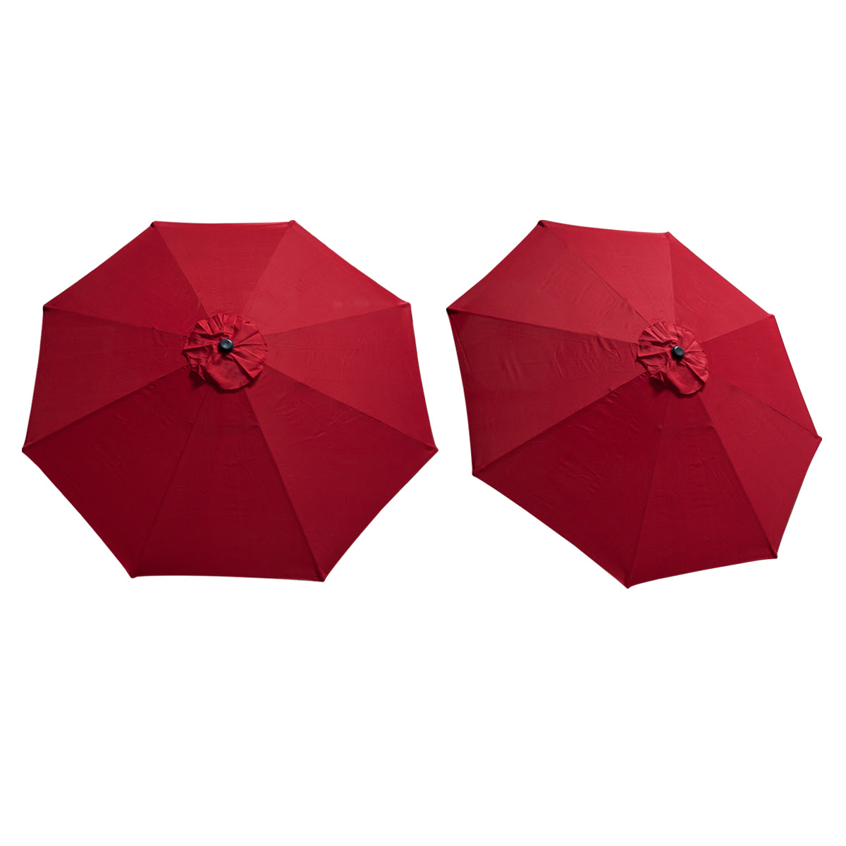 Replacement Cover Canopy 9 FT 8 Ribs Umbrella Red Top ...