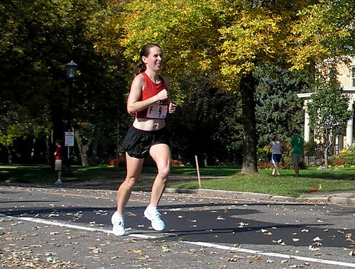 Twin Cities Marathon Women's Winner - Svetlana Ponomerenko