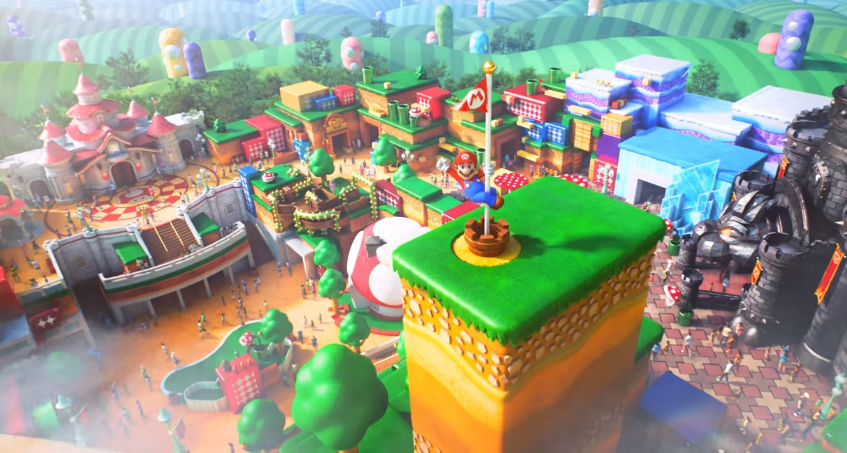Mario Kart ride confirmed at Universal's Super Nintendo World screenshot