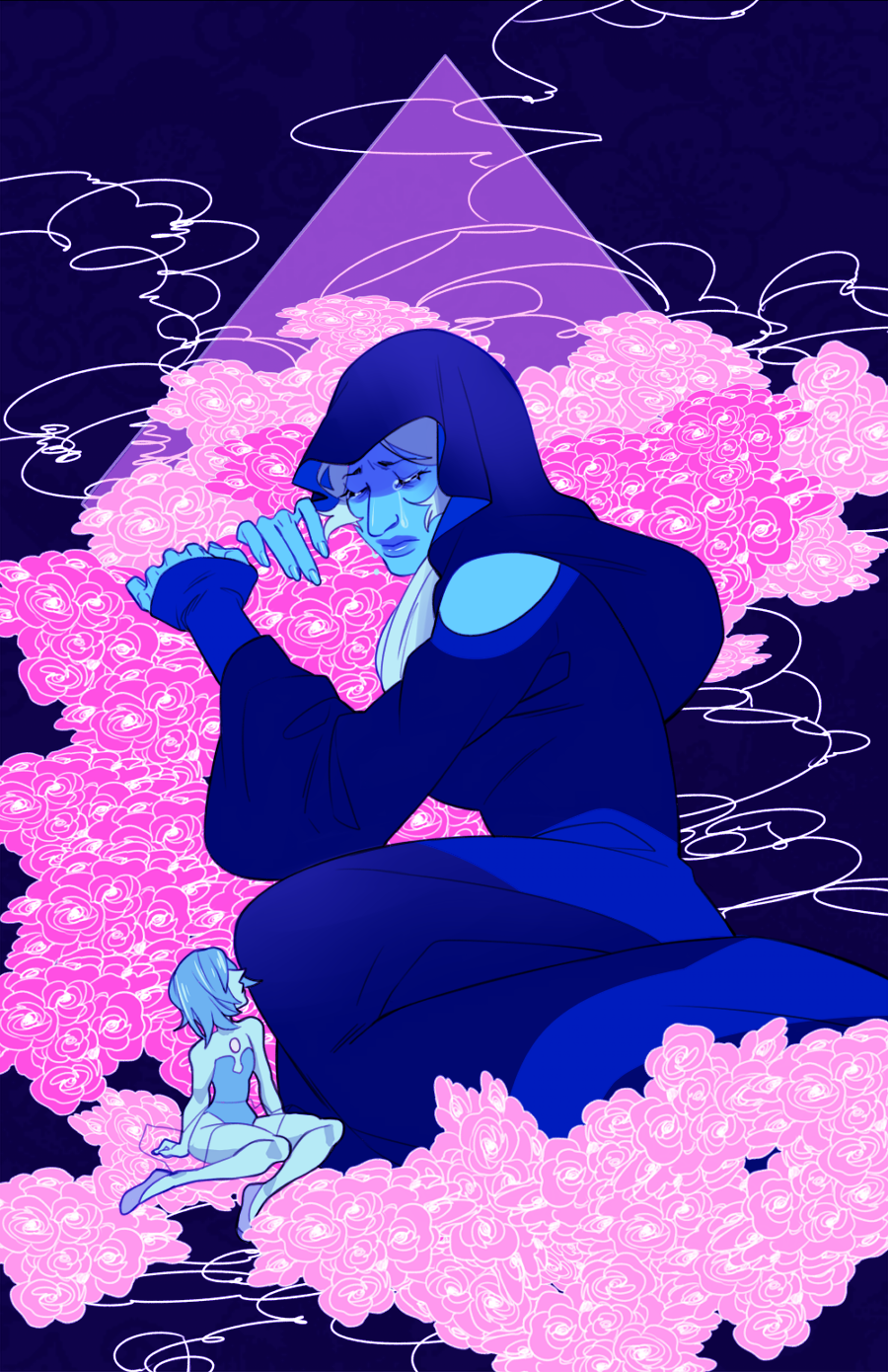 """Blue Diamond "" will be available as a print"
