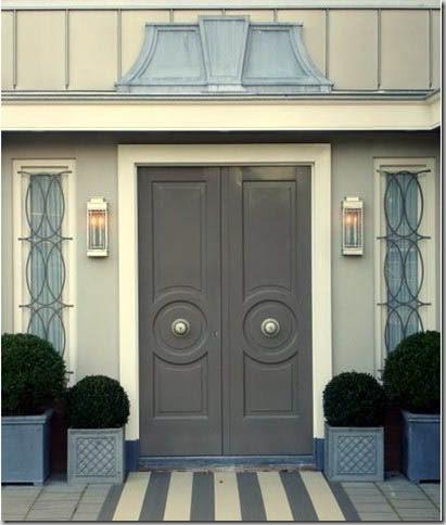 {circular moldings on doors}