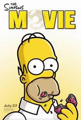 Póster de Los Simpsons - La película