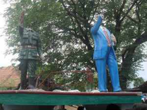 Ambedkar Immanuel Sekaran Statues Vandalised