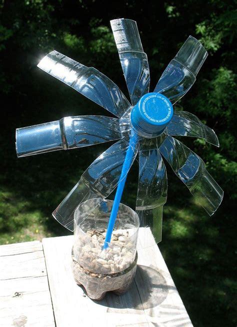 summer arts  crafts water bottle flowers written