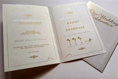 ZINIA JC : Parsi Wedding Invitation Card Designs