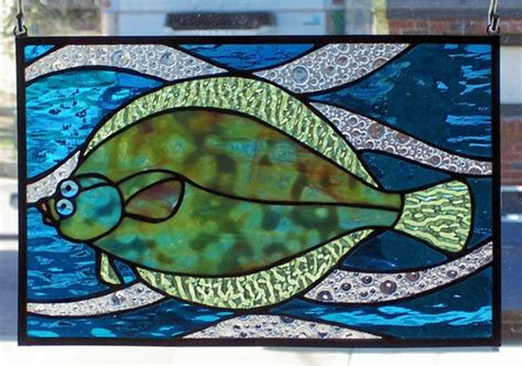 stained glass fish images  pinterest stained