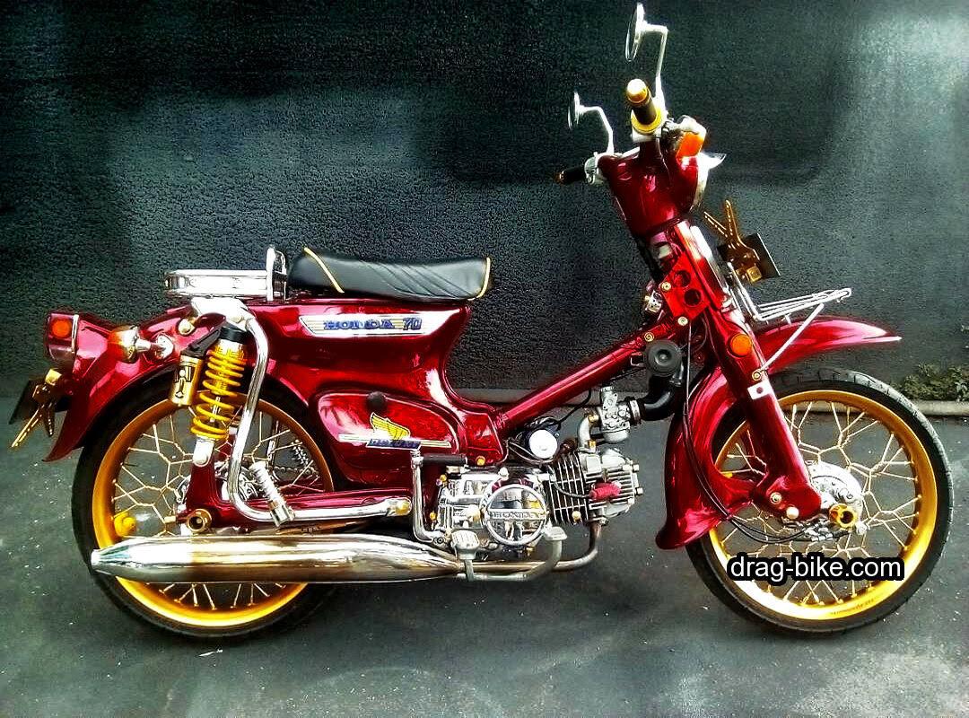 Koleksi Ide 55 Modifikasi Motor Honda Grand Klasik Terupdate Pojok