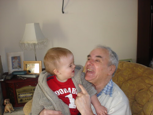Oliver and Grampy