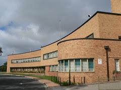Adelaide High School, South Australia, a beautiful Art Deco style school building