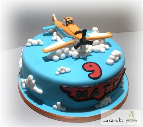 Disney Planes 9th Birthday Cake   Bakealous
