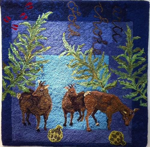 Blue Goats by Tanya Graham