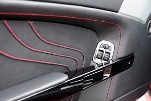 2011 Aston Martin V8 Vantage S door trim