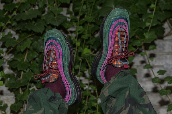 "8ff4b3fb39a Nike Air Max 97 NRG ""Jacket Pack"" Features Outerwear Patterns"