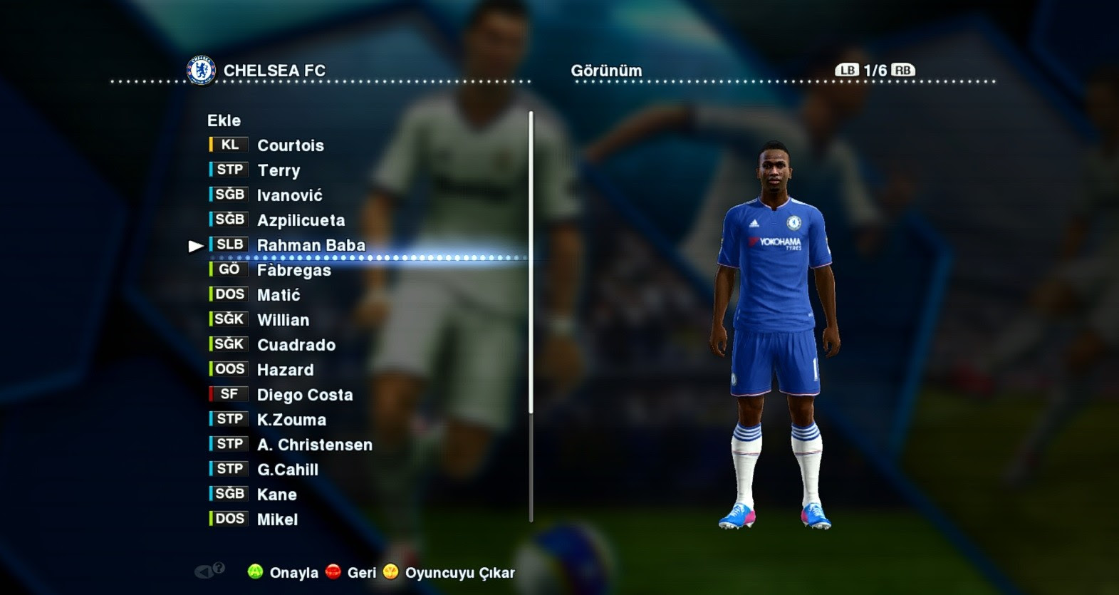 PES 2013 NEW UPDATE OPTION FILE 21.8.2015 PESEDIT 6.0 BY FERHAT SARKIN