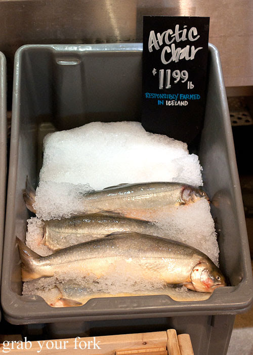 arctic char fish seafood at whole foods market flagship store supermarket groceries austin texas