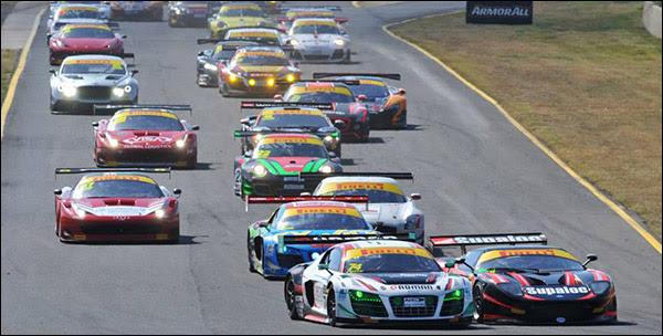 Australian GT: Sydney Motorsports Park, Ferrari & Audi ...
