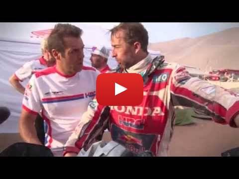 Team HRC Dakar Rally 2015 - Stage 8 -  Behind the Scenes