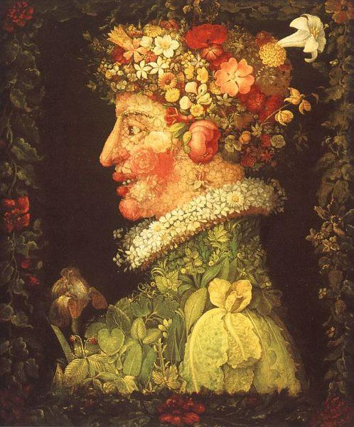 G. Arcimboldo, Primavera, 1563