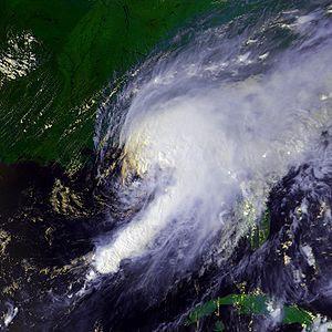 Hurricane Earl at peak intensity on September ...