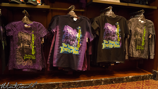 Disneyland Resort, Disney California Adventure, Tower of Terror, Merchandise