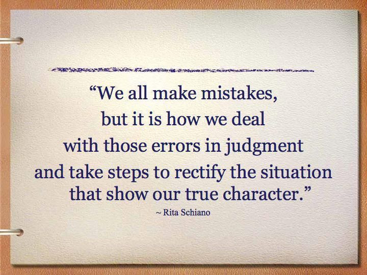 Quotes About Small Mistakes 49 Quotes