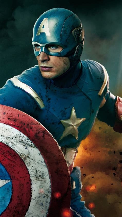 captain america iphone  wallpapers hd
