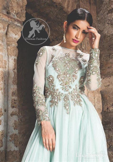 Designer Collection 2017   Light Blue Party Wear