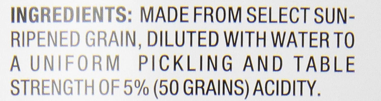 Heinz White Vinegar Distilled - 128 oz: Amazon.com: Grocery ...