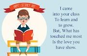 Happy Teachers Day Poem in English