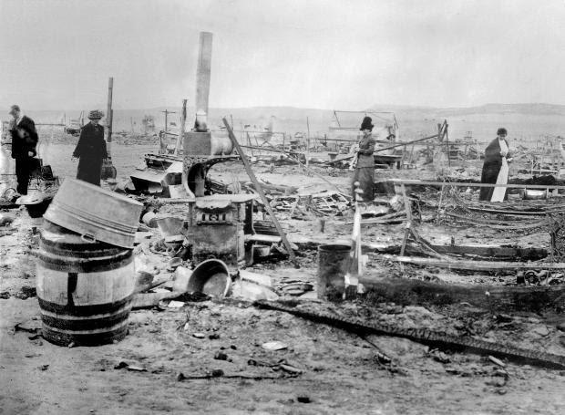 Τα ερείπια της κατασκήνωσης Λάντλοου