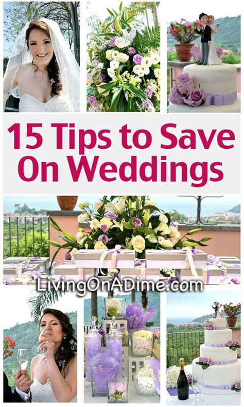 15 Tips to Save On Weddings   Cheap Wedding Ideas