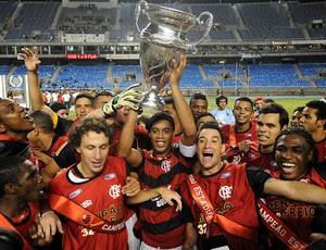 ronaldinho gaucho comemoração flamengo campeão taça rio (Foto: André Durão / Globoesporte.com)