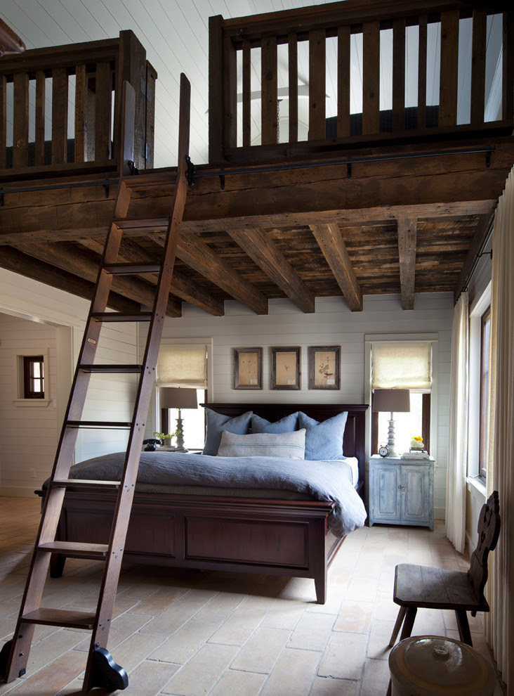 Lovely Farmhouse Bedroom  Design